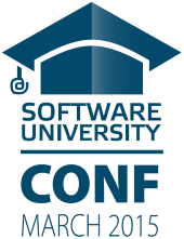 SoftUni Conf March 2015 - Logo