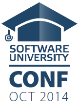 SoftUni Conf May 2014 - Logo