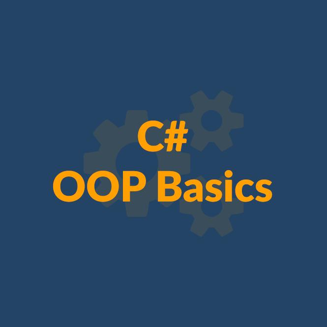 C# OOP Basics - октомври 2018 icon
