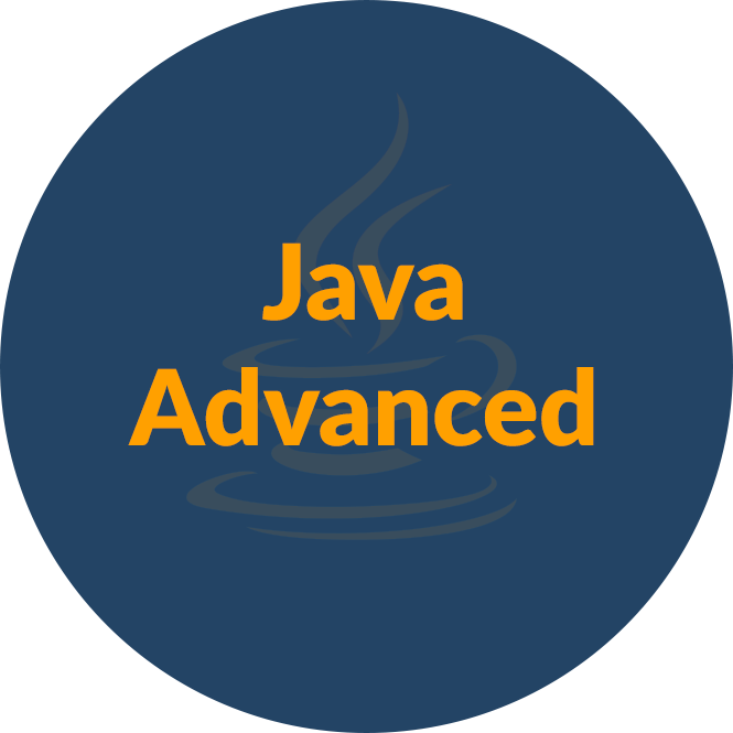 Java Advanced - май 2018 icon