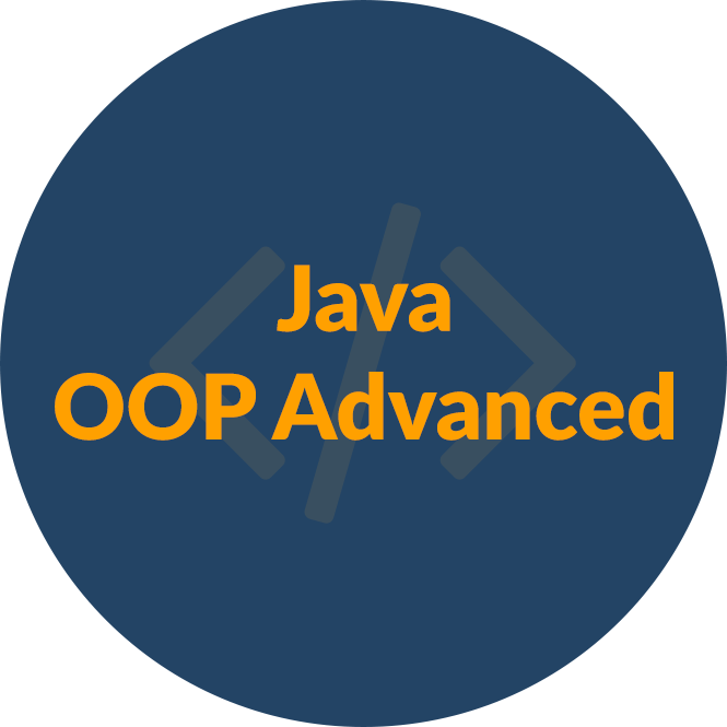 Java OOP Basics - юни 2018 icon