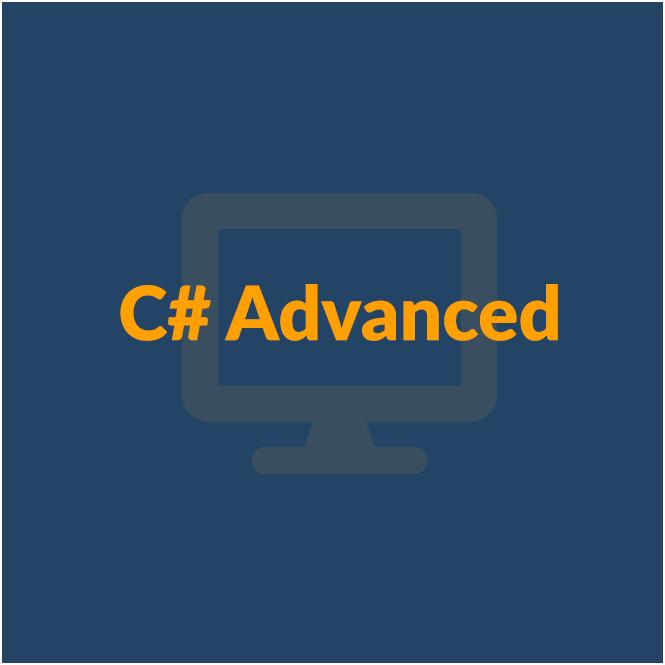 C# Advanced - септември 2018 icon