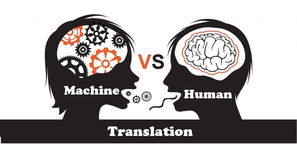 Machine vs. human translation